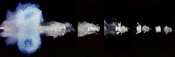 Shotgun Shot Sequence (Author: Andrew Davidhazy)