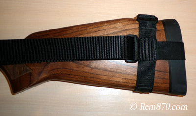 Wilderness Giles Sling on a Factory Wood Stock