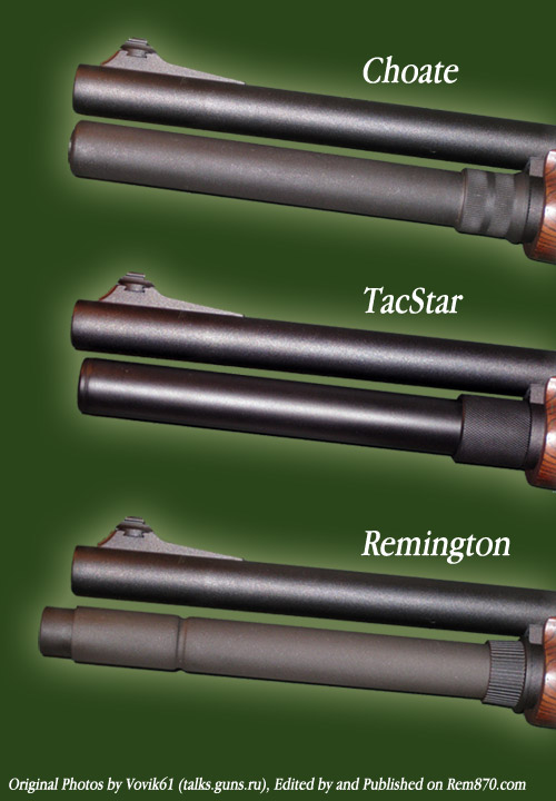 Remington 3-Round Magazine Extensions (Choate, TacStar, Remington)