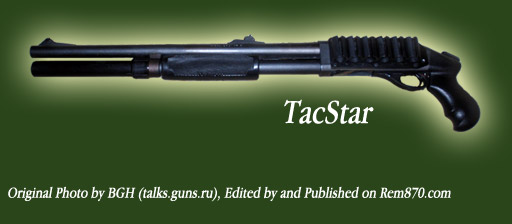 TacStar Pistol Grip for Remington 870