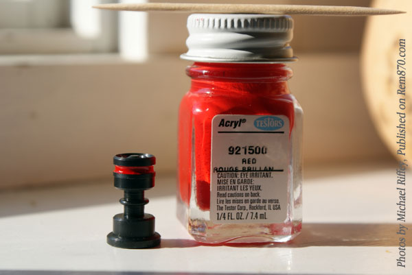 Red Enamel Paint Safety