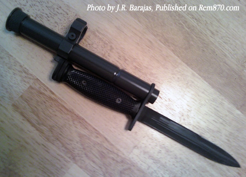 Remington 870 Bayonet Mount