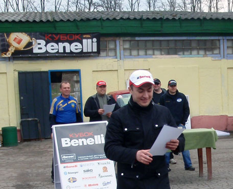 Vitaly Pedchenko Benelli Cup