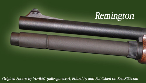 Remington 870 Magazine Extensions