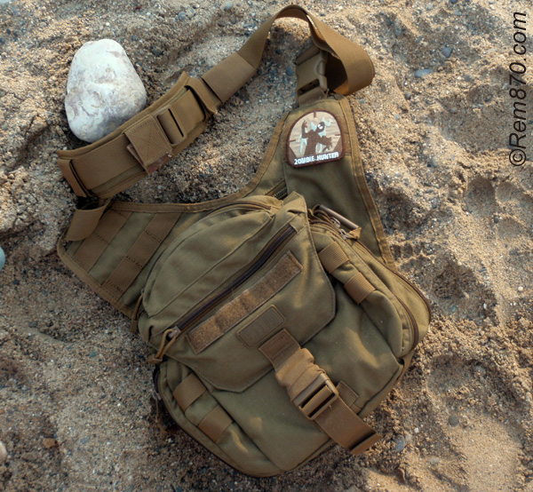 5.11 Tactical PUSH Pack (Shouder bag) review with photos