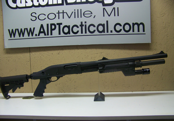 Custom Remington 870 by AI&P TACTICAL (Photo from http://www.aiptactical.com)