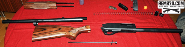 Remington 870 Disassembly