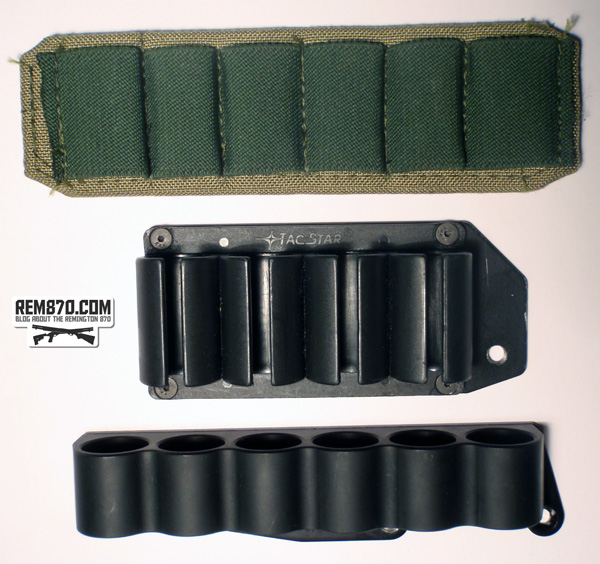 Sidesaddles for Remington870