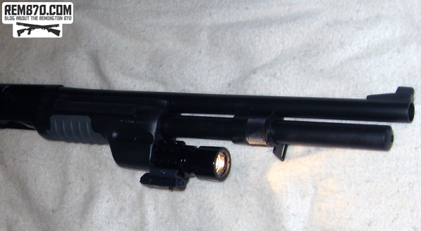 Wilson Combat Remington 870 with Surefire Forend