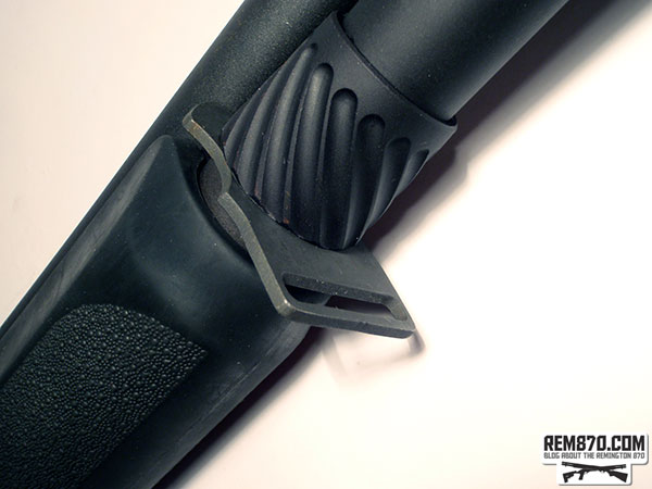 S&J Hardware, Remington 870 3 position front sling plate (on the bottom)
