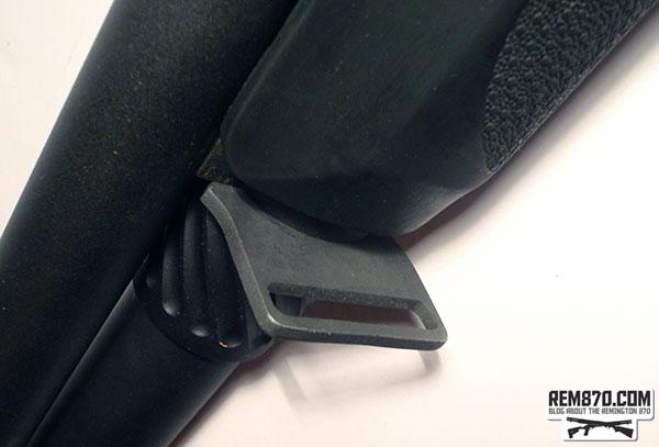 S&J Hardware, Remington 870 3 position front sling plate (on the left side)