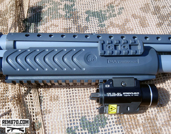 Command Arms Forend on Mossberg 590