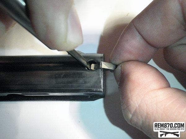 Extractor Installation on Remington870