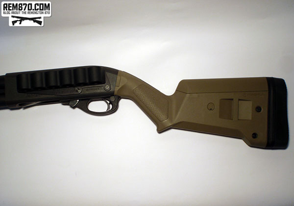 Magpul SGA Stock (in Flat Dark Earth) for Remington 870