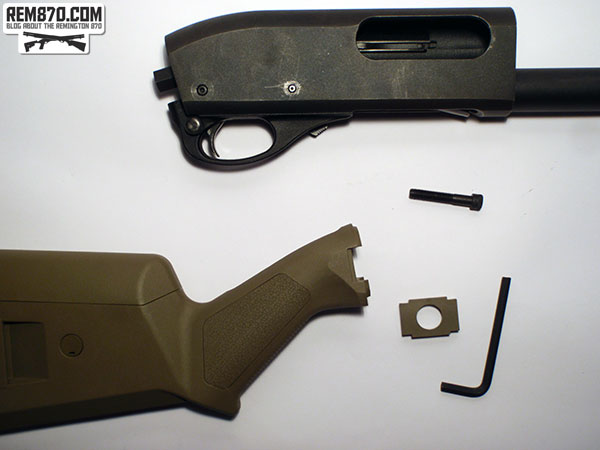 Magpul SGA Stock for Remington 870 Installation