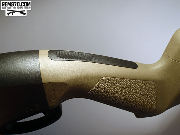 Magpul SGA Stock for Remington 870 Installation - Covering Plate