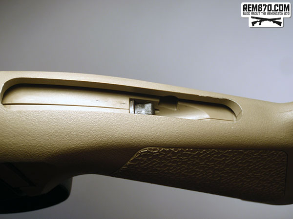 Magpul SGA Stock for Remington 870 Installation - Screw