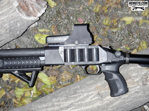 Mossberg 590 TacStar Sidesaddle