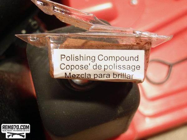 Polishing Compound Used to Polish Remington 870 Chamber