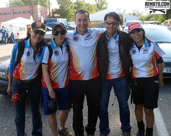 Vitaly with Thailand Team
