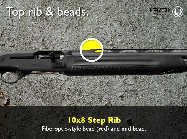 Beretta 1301 10x8 Step Rib