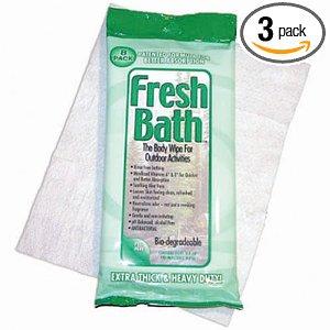 Fresh Bath Body Wipes