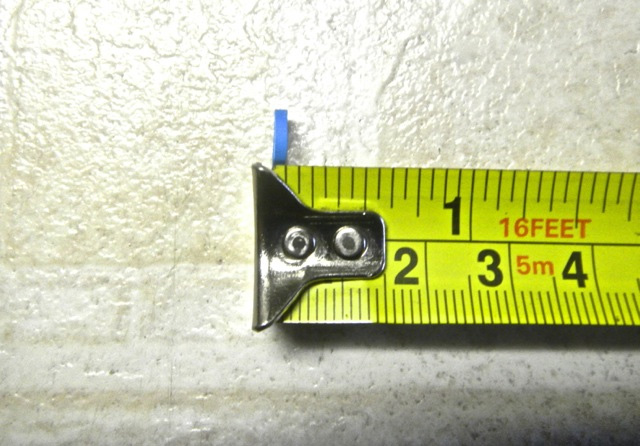 Measure 1/4 of a Quarter of an Inch