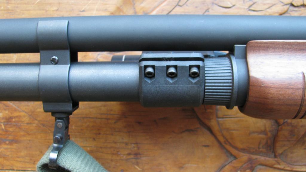 Streamlight TLR-1 Flashlight on Remington 870 Shotgun