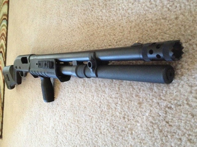 Remington 870 Choate Extension Tactical Barrel Choke