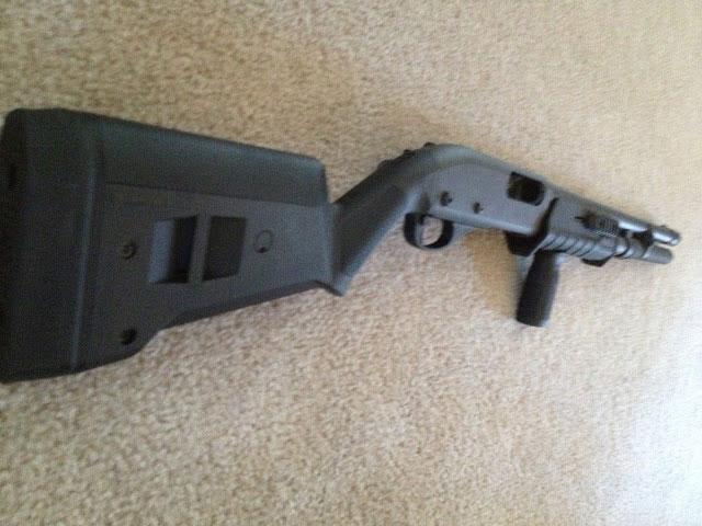 Remington 870 Magpul SGA Stock