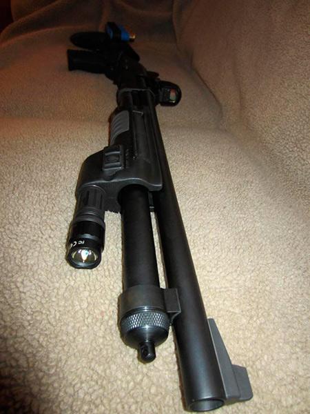 Surefire Forend Remington 870 Shotgun