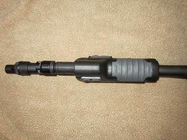 Surefire Forend on Remington 870 Shotgun