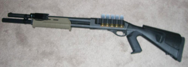 Remington 870 with Flashlight