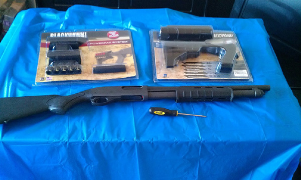 Remington 870 Upgrades: Knoxx Stock and Magpul Forend