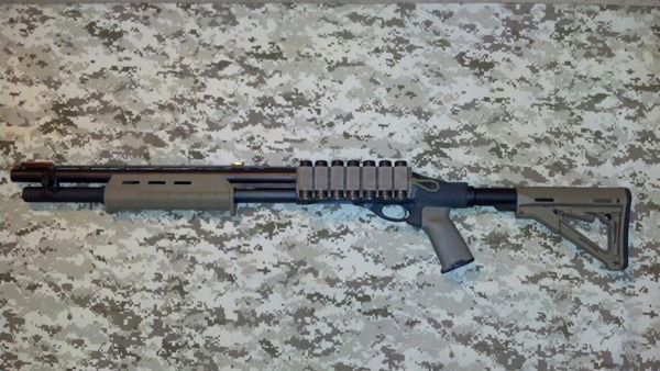 Remington 870 Tactical Homedefense