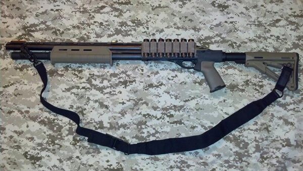 Remington 870 Tactical/Homedefense with Sling