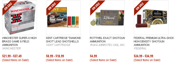 Shotgun Ammunition on Sale