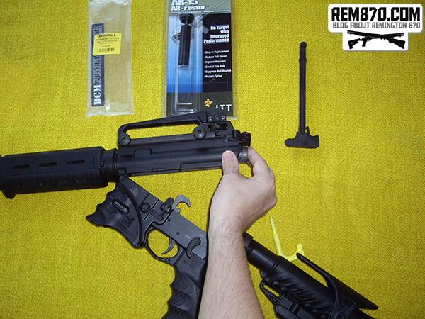 AR-15 BCM Gunfighter Charging Handle Installation