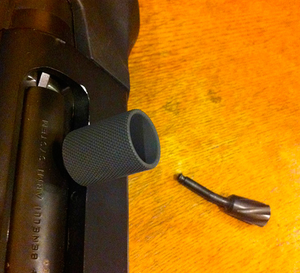 Nordic Components Benelli M2 Charging Handle Fail