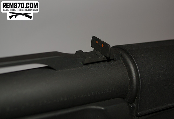 Benelli Supernova - Additional Rear Sight Up