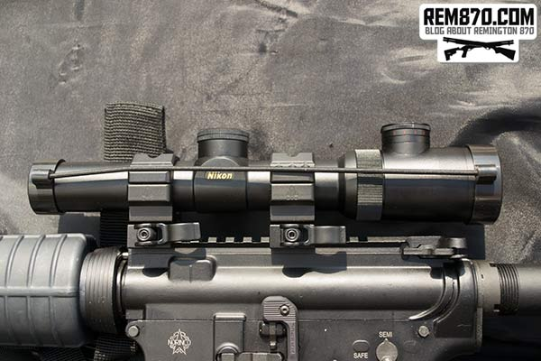 Nikon 1.1-4x24 Monarch African Riflescope for AR-15