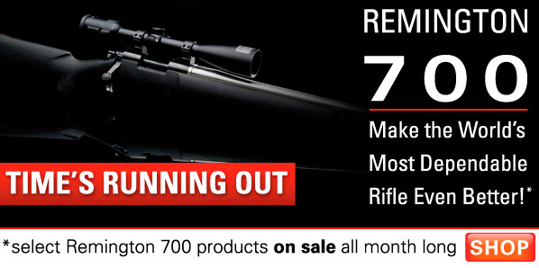 Remington 700 Products on SALE on Brownells!