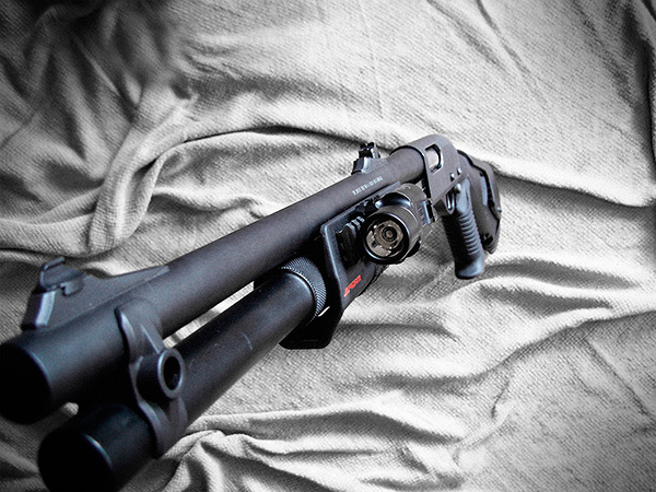 Custom Remington 870 for Home Defense