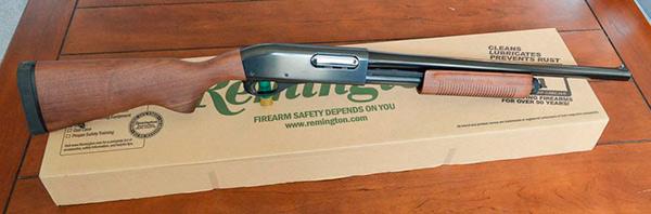 Remington 870 Police in Blue! (Model 24899)