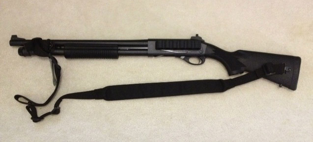 Remington 870 Tactical with Upgrades