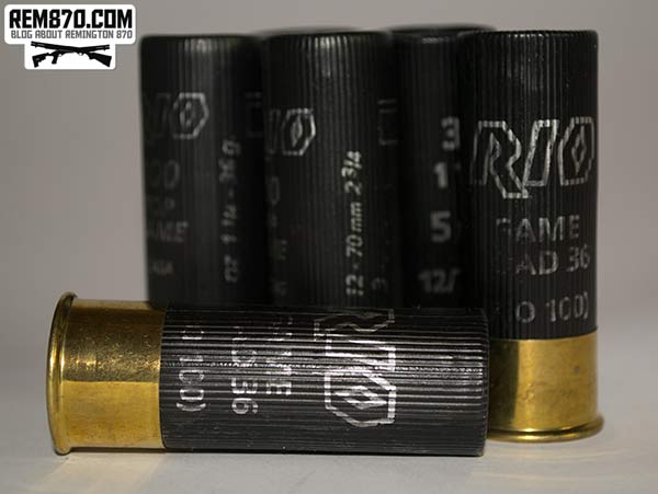 RIO Game Load 36 gram Shotgun Ammunition