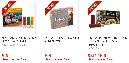 Shotgun Ammunition on Sale on Brownells!
