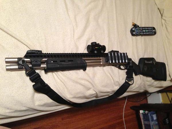 The Coolest Remington 870 Tactical Marine