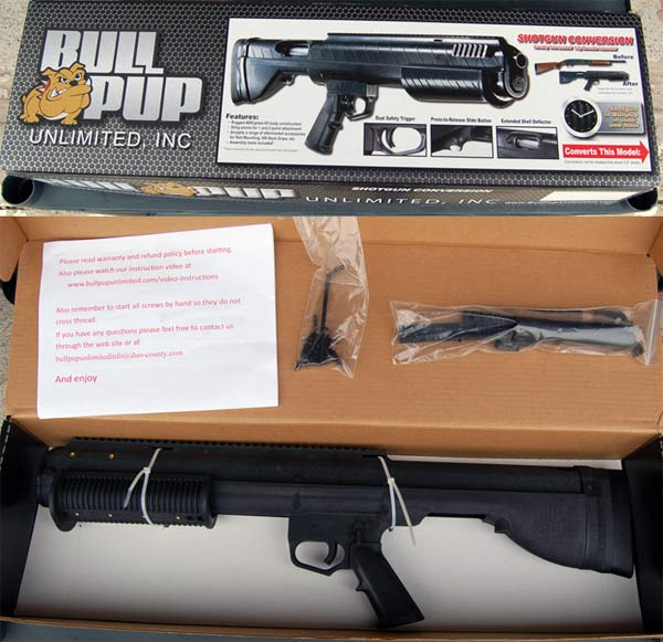 Bullpup Unlimited Remington 870 Conversion Kit