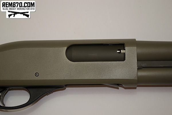 Gun Kote Painted Remington 870 Receiver